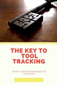 Key to Tool Tracking 1