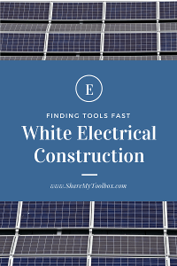 White Electrical, Tool Tracking Profile 1
